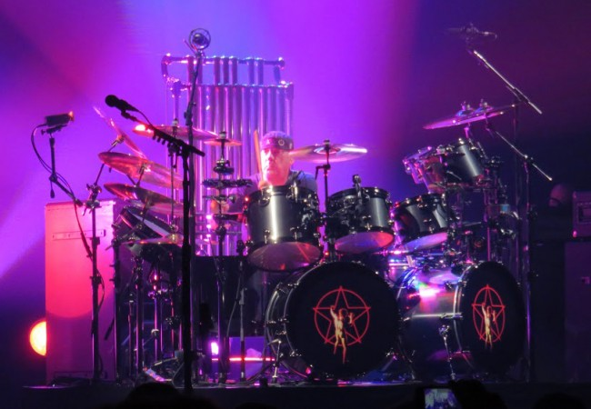 Neil and his drum set